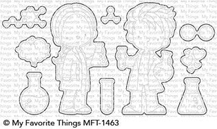 MFT STAMPS: BB Cute Chemists Die-namics