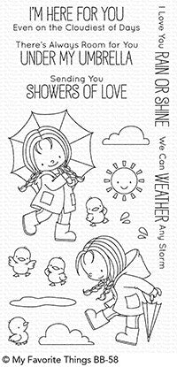 MFT STAMPS: Rain or Shine