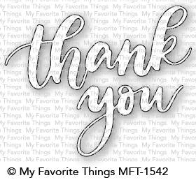 MFT STAMPS: Thank You Die-namics