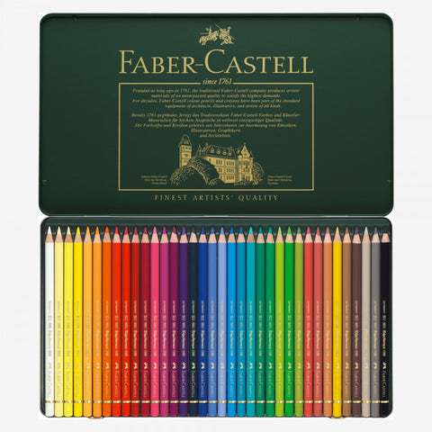 FABER-CASTELL: Polychromos Colored Pencil Set (36 piece set)