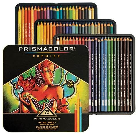 PRISMACOLOR: Premier Colored Pencil Set | 72 Color Set