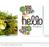 MFT STAMPS: Simply Hello Die-namics
