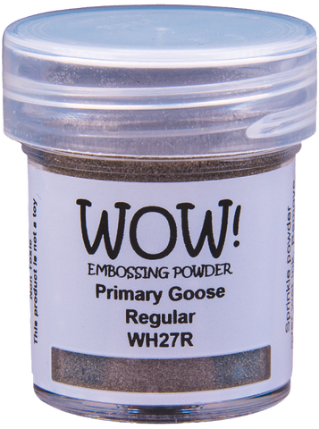 WOW! Embossing Powder Primary | Goose | Regular