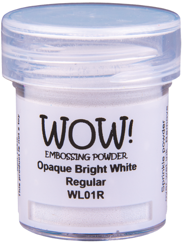 WOW! Embossing Powder | Bright White | Regular