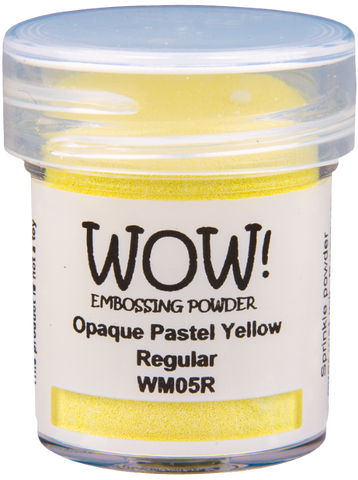 WOW! Embossing Powder | Pastel Yellow