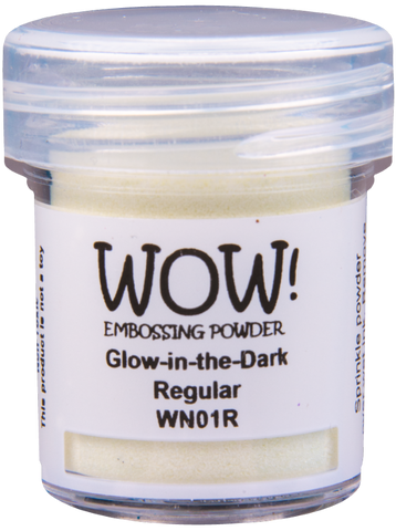 WOW! Embossing Powder | Glow in the Dark | Regular