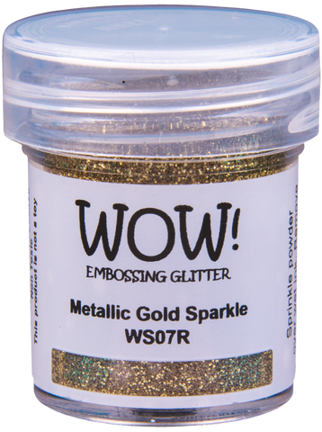 WOW! Embossing Glitter | Metallic Gold Sparkle