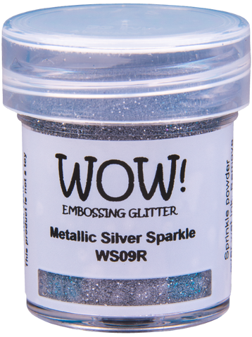 WOW! Embossing Glitter | Metallic Silver Sparkle