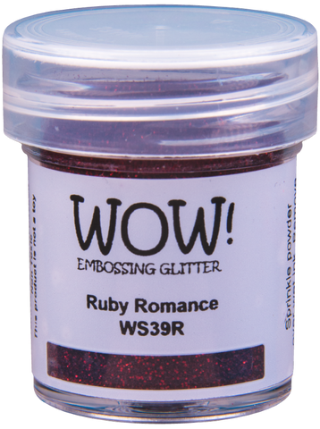 WOW! Embossing Glitter | Ruby Romance