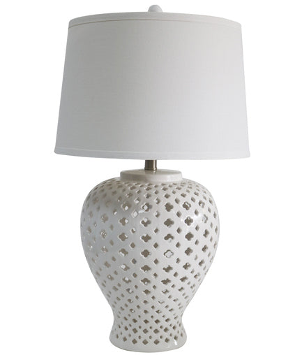Lattice Tall Table Lamp