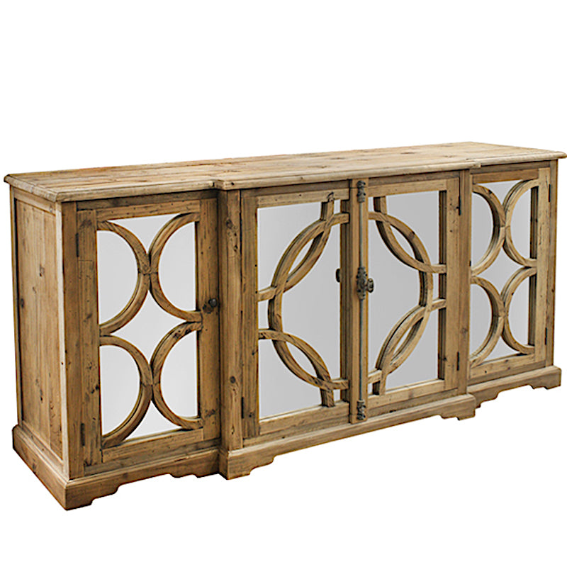 Keats Mirrored Sideboard