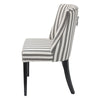 Ophelia Linen Dining Chair Stripe