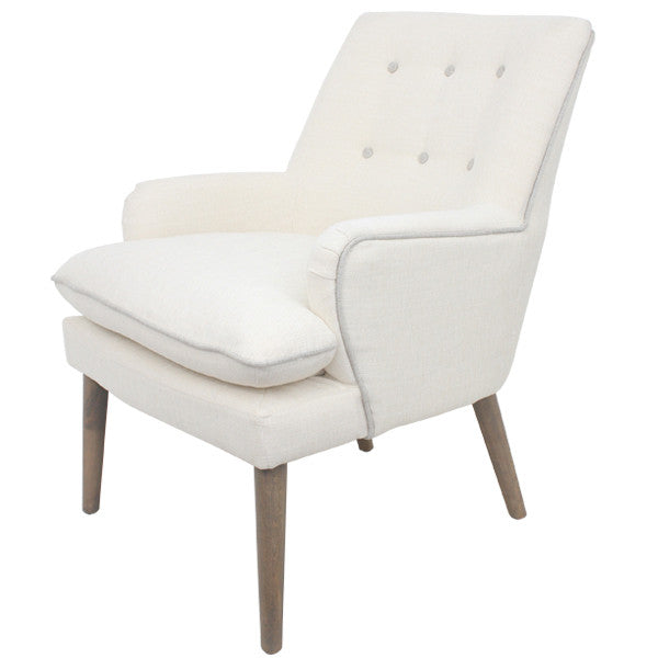 Santa Fe White Chair