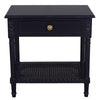 Marco Rattan Table Black