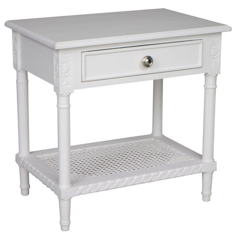 Marco Rattan Table White