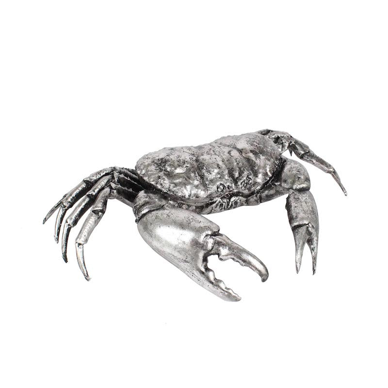 Antique Silver Crab
