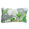 Schumacher Bermuda Blossoms Cushion Rectangular