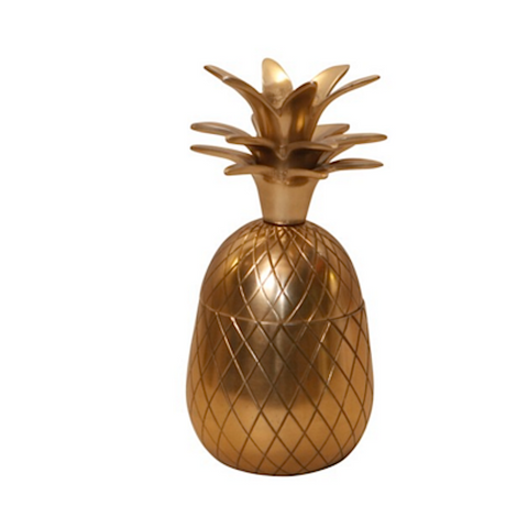 St Lucia Brass Pineapple