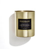 Cocolux Tonka Bean & Lime Zest Luxury Luna Brass Candle 350g