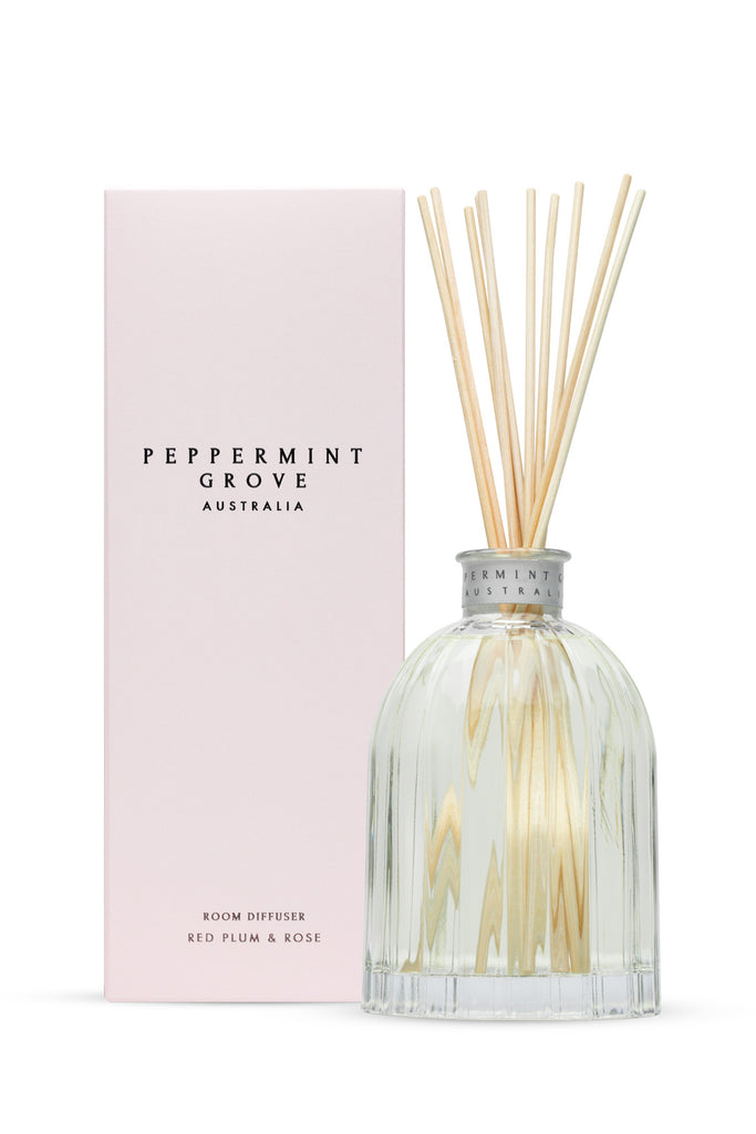 Peppermint Grove Red Plum & Rose Diffuser 350ml