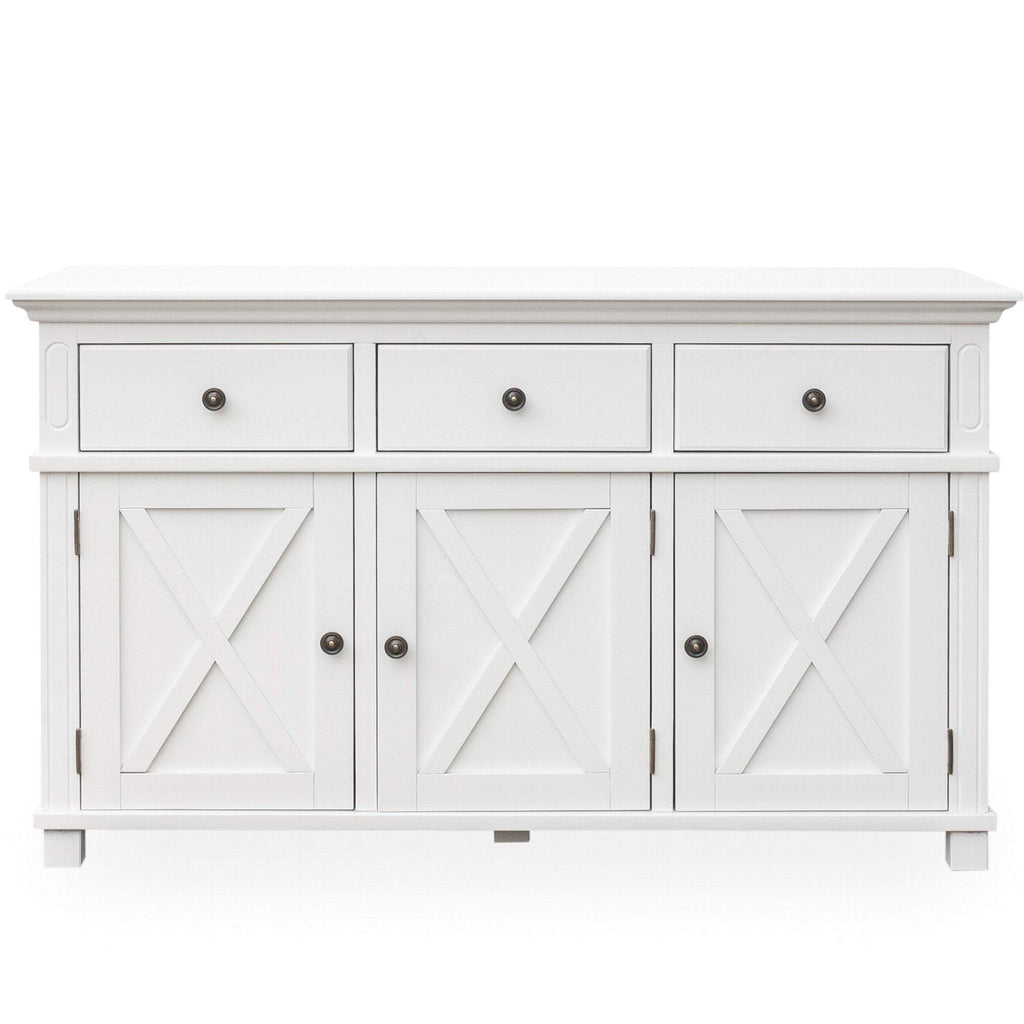 Sorrento 3 Drawer Buffet White
