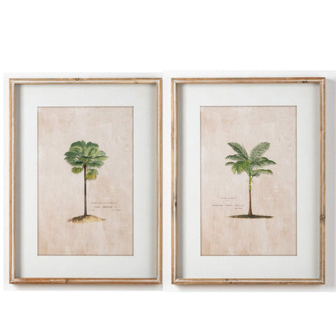 Set 2 Palm Print Artworks