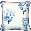 Indigo Sea Fern Cushion