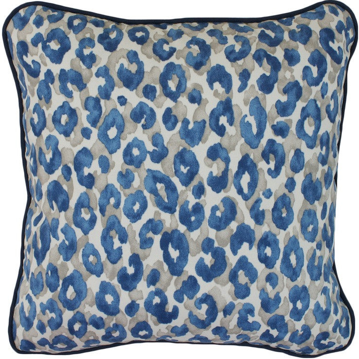 Kenya Blue Cushion