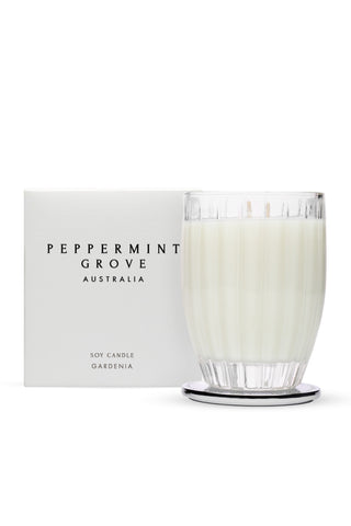 Peppermint Grove Gardenia- LARGE CANDLE 350G