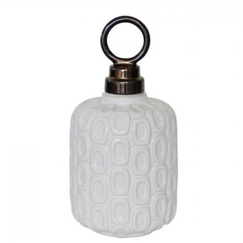 White Nanterre Jar