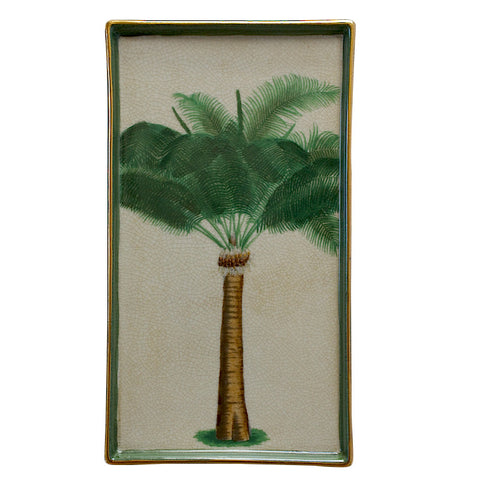 Bahamas Palm Tree Wall Plate