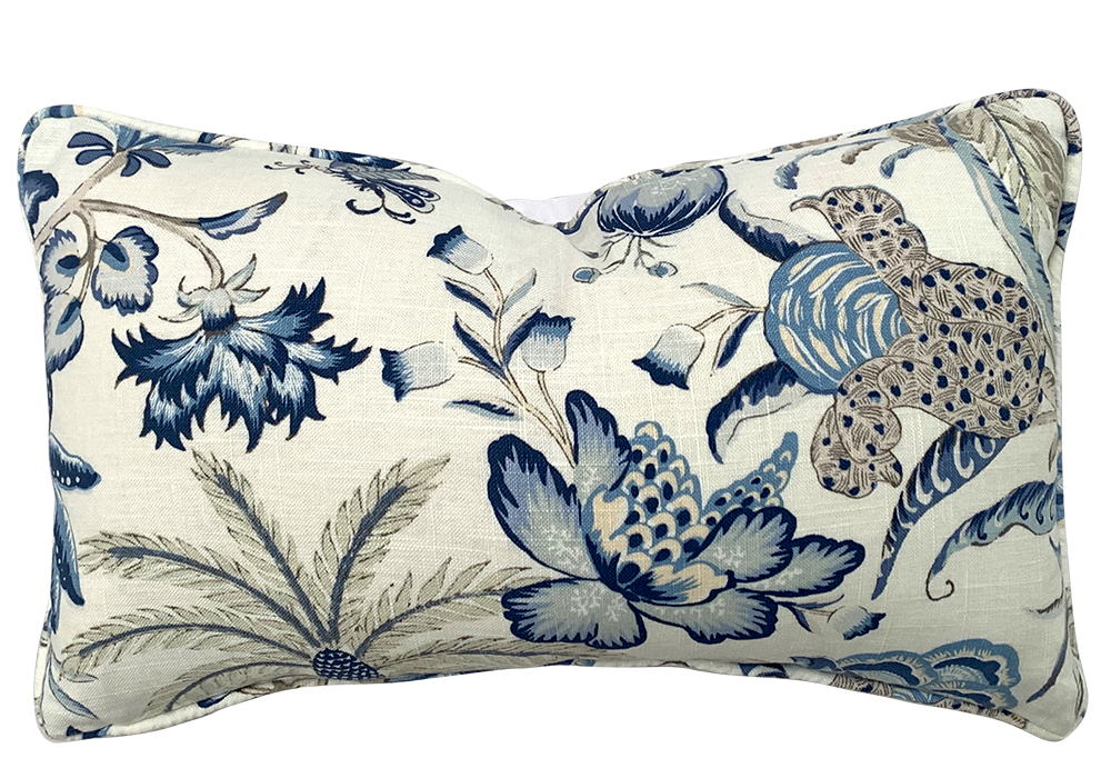 Porcelain Dreams Cushion Rectangular