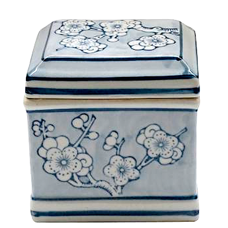 Blue & White Sakai Oriental Box