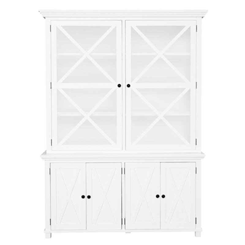 Sorrento Tall Glass Door Cabinet Daly House Lifestyle Homewares