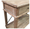 Timber & Metal 2 Drawer Console Table