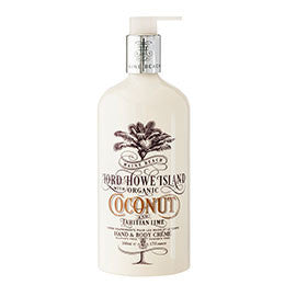 Hand & Body Cream- Coconut & Tahitian Lime Fragrance 500ml