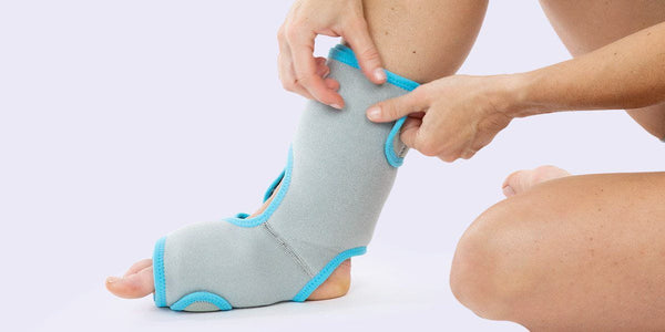How to Reduce Plantar Fasciitis Symptoms with Ice and Heat