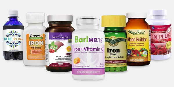 12 Best Iron Supplements for Anemia