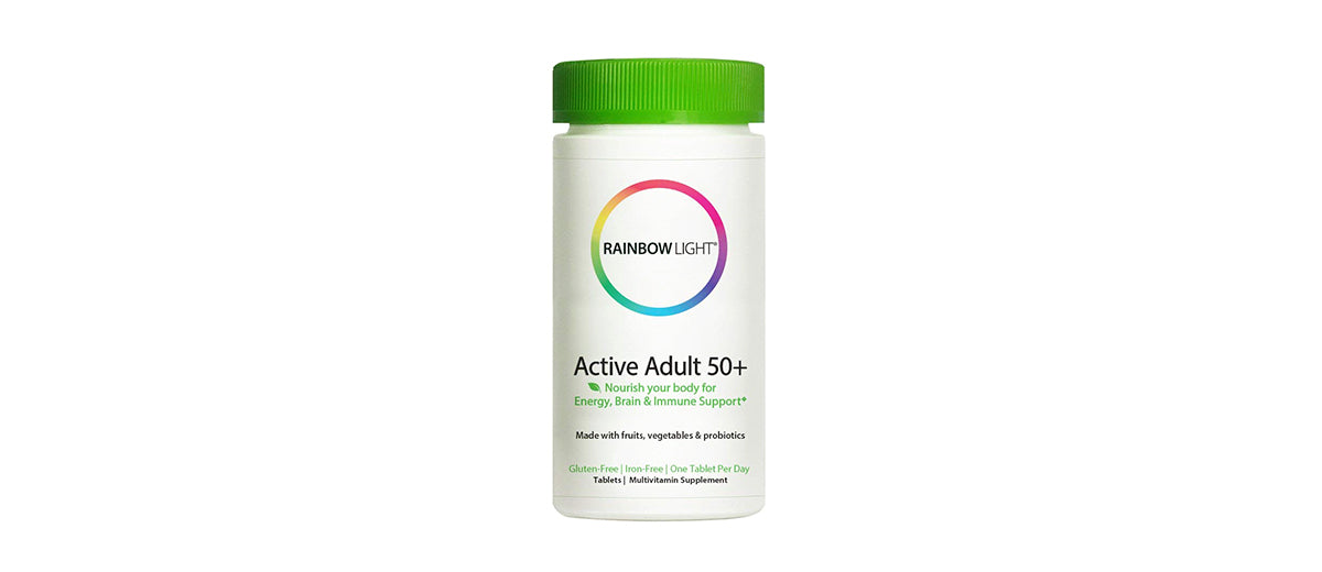 Active Adult 50+ Multivitamin with CoQ10 by Rainbow Light