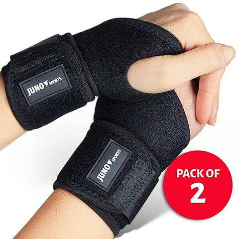 Adjustable Athletic Wrist Brace by JunoSports