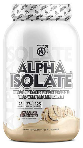 Alpha ISO Whey Protein Isolate Powder by Modern Man Prodcuts