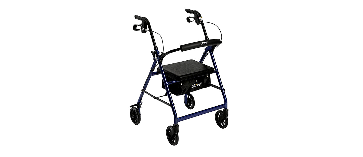 Aluminum Rollator Walker by Drive Medical
