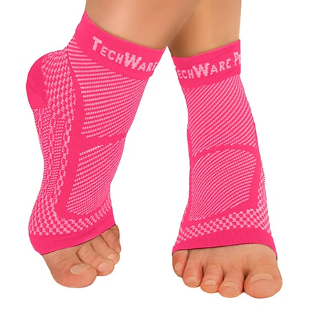 Ankle Compression Socks by TechWare Pro