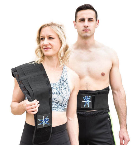 Back Brace for Lumbar Support by ComfyMed