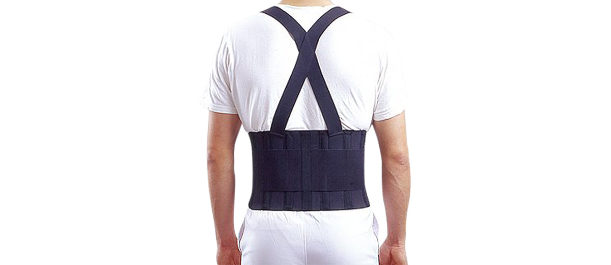 Back Support with Shoulder Straps by Therapist's Choice