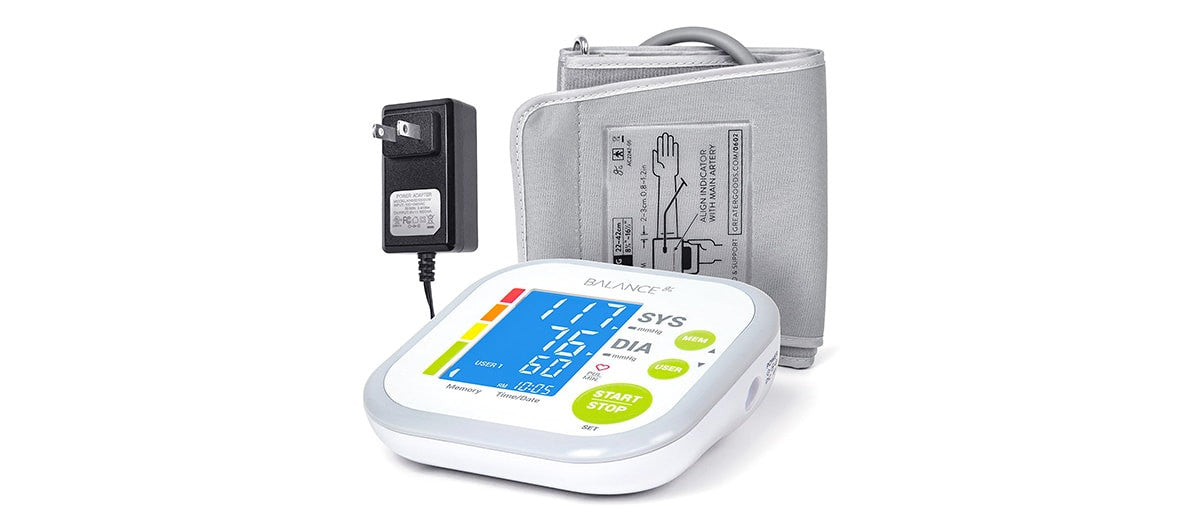 Balance Blood Pressure Monitor Kit by Greater Goods