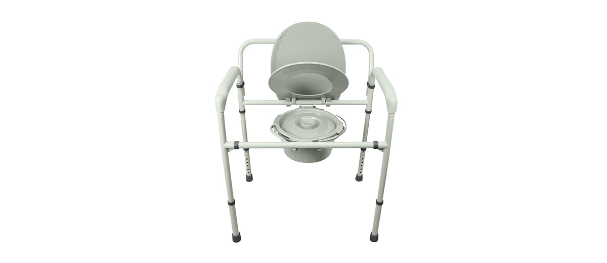 Bariatric Bedside Commode by Vive