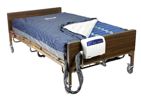 bariatric heavy duty low air loss mattress system by drive medical
