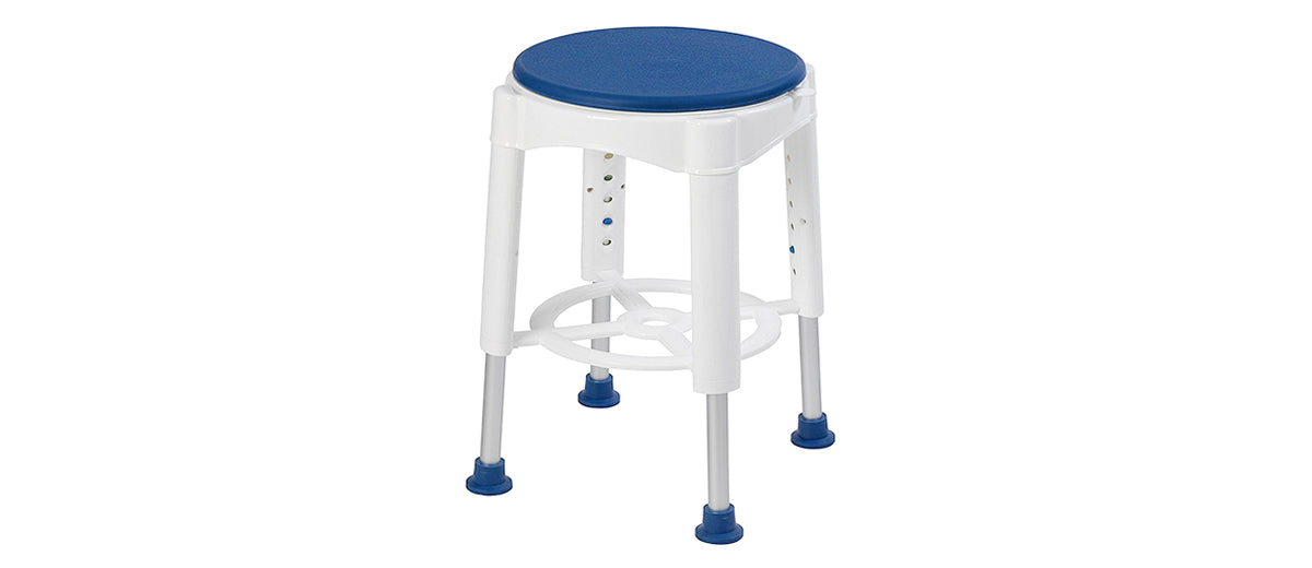 Bath Stool with Padded Seat by Drive Medical
