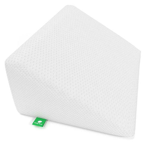 Bed Wedge Memory Foam Top Pillow by Cushy Form